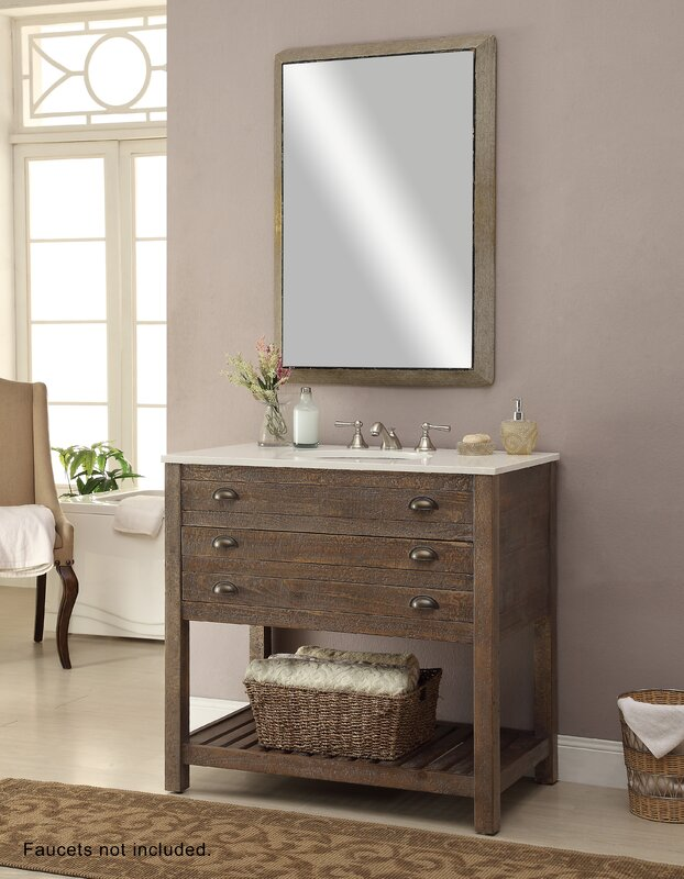 vanity sink. Russell 36  Single Sink Vanity Set Reviews Birch Lane