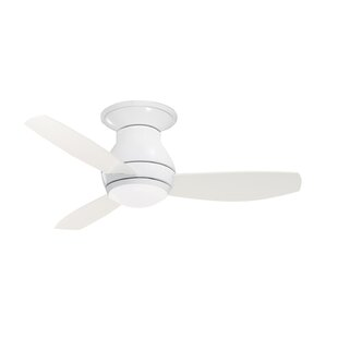 Affordable 44 Robledo 3 Blade LED Ceiling Fan with Remote By Mercury Row