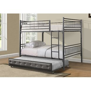 Jayme Full Bunk Configuration Bed with Trundle