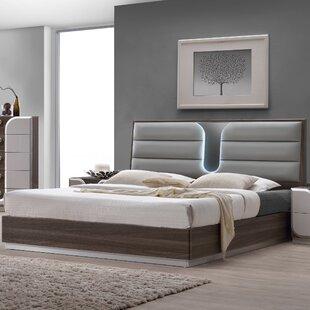 Upholstered Panel Bed by Orren Ellis