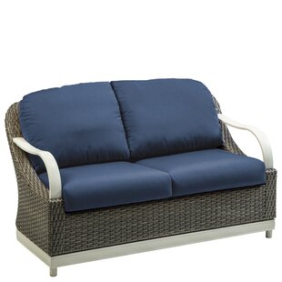 Shoreline Woven Loveseat with Cushion