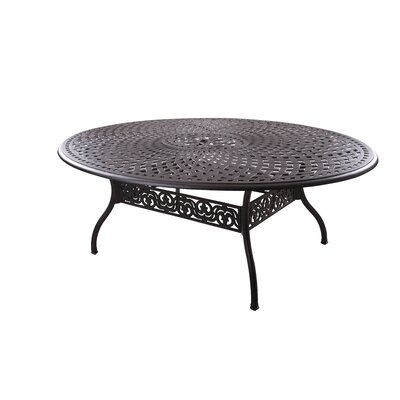 Dolby Metal Dining Table by Astoria Grand Best #1