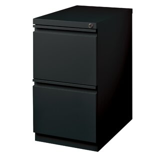 Bourassa Pedestal 2 Drawer Mobile Vertical Filling Cabinet by Rebrilliant
