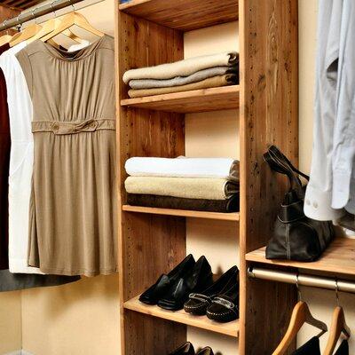 """96"""" Cedar Deep Closet Kit Cedar Green"""