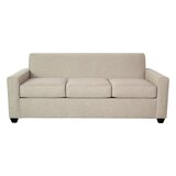 Avery 80 Square Arm Sofa Bed by Edgecombe Furniture