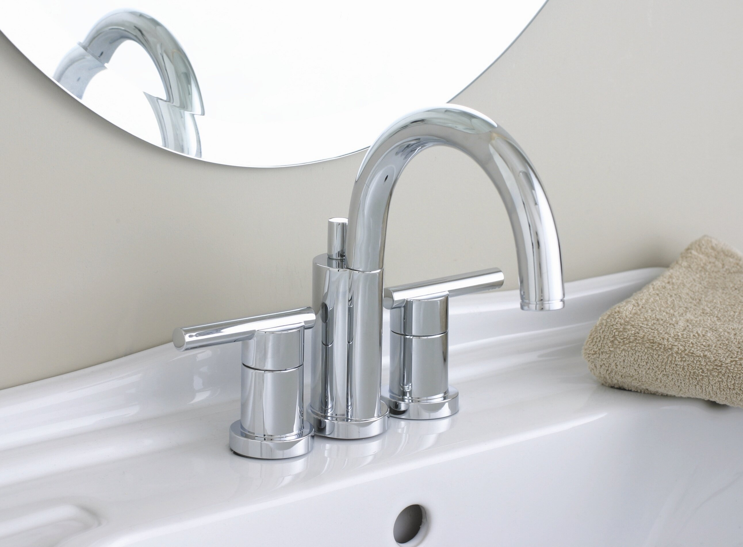 faucet lever aldora pl bathroom shop model handles lavatory sinks widespread orb porcelain