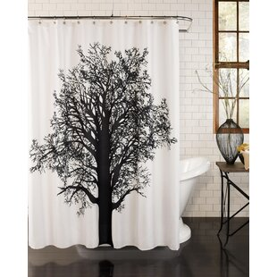 Affordable Elim Tree Silhouette Shower Curtain ByLoon Peak
