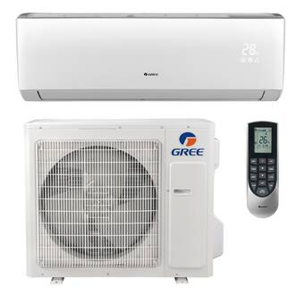 GREE Livo 22,000 BTU Ductless Mini Split Air Conditioner with Heater