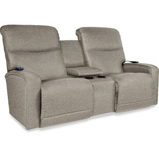 Levi Reclining Loveseat with Console by La-Z-Boy