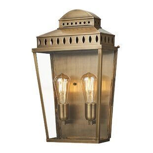Mcdermott 2-Light LED Outdoor Flush Mount