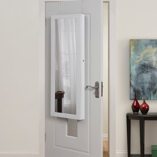 Neighbors Full Length Over the Door/Wall Mounted Jewelry Armoire with Mirror