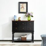 Aderdour 36.22'' Wide 6 Drawer Buffet Table by Winston Porter