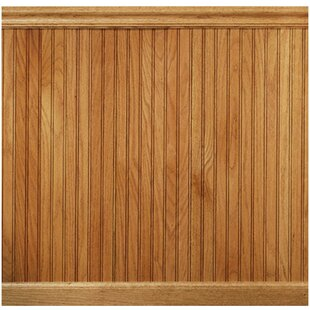 96 Solid Wood Wall Paneling In Red Oak