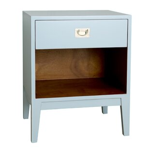 Reinaldo Lacquer Nightstand By Bungalow Rose