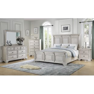 Ashkum Panel 5 Piece Bedroom Set by DarHome Co