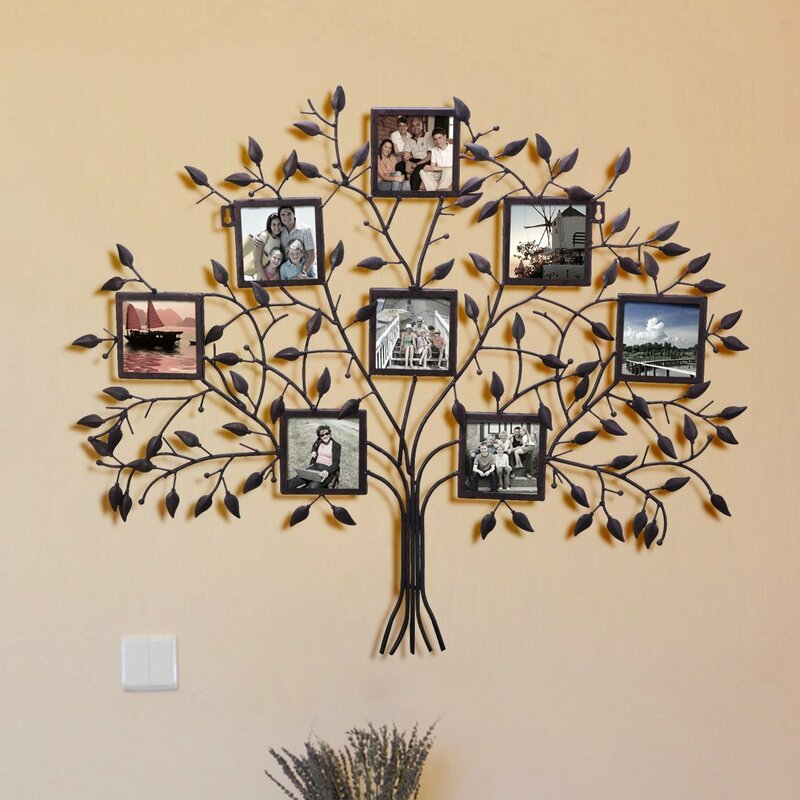 Andover Mills Decorative Family Tree Picture Frame Reviews Wayfair