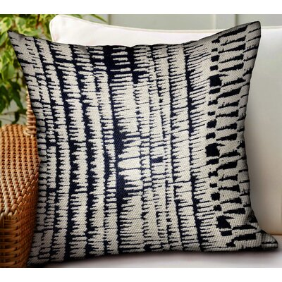 Levan Abstract Luxury Indoor/Outdoor Throw Pillow by Bungalow Rose #2