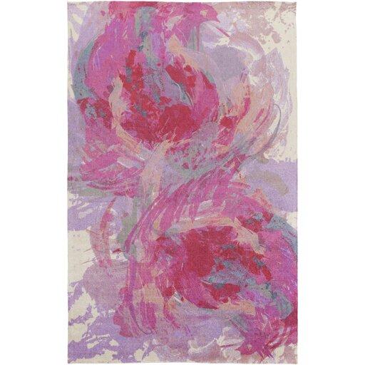 Latitude Run Donie Hot Pink Area Rug U0026 Reviews | Wayfair