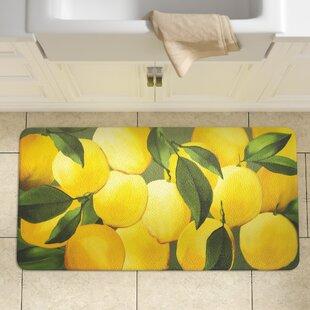 Awesome Easterbrooks Lemons Kitchen Mat