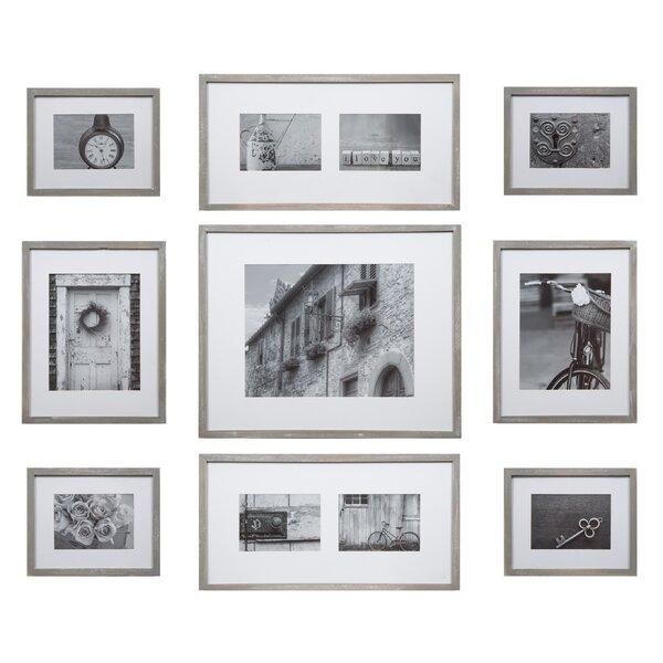 Gracie Oaks Marquard 9 Piece Wall Gallery Picture Frame Set U0026 Reviews |  Wayfair
