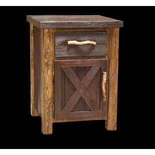 Jorgensen 1 Drawer Nightstand