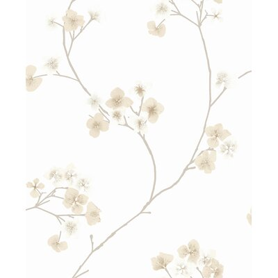 Ophelia & Co. Judith Gap 33' x 20 Radiance Wallpaper Roll Color: Natural