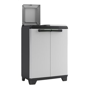 Split 20 Gallon Touch Top Multi-Compartments Trash and Recycling Bin