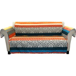 Zehnder Box Cushion Sofa Slipcover by Bungalow Rose