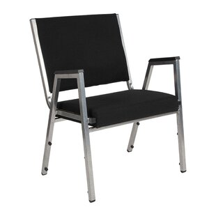 Great Price Hafley Stacking Chair with cushion by Symple Stuff Reviews (2019) & Buyer's Guide