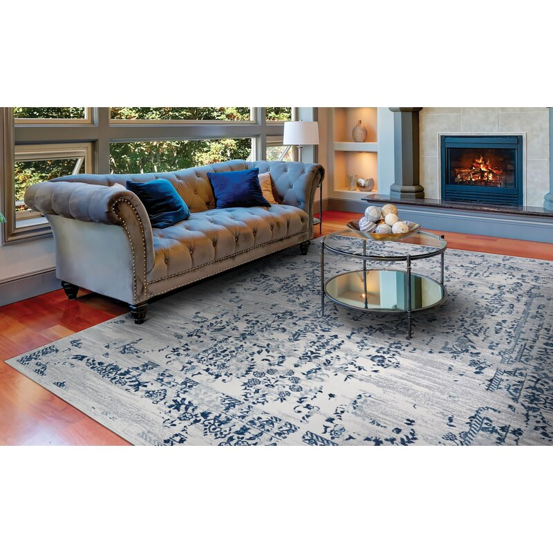Astonishing Jakes Steel Blue Ivory Area Rug Andrewgaddart Wooden Chair Designs For Living Room Andrewgaddartcom