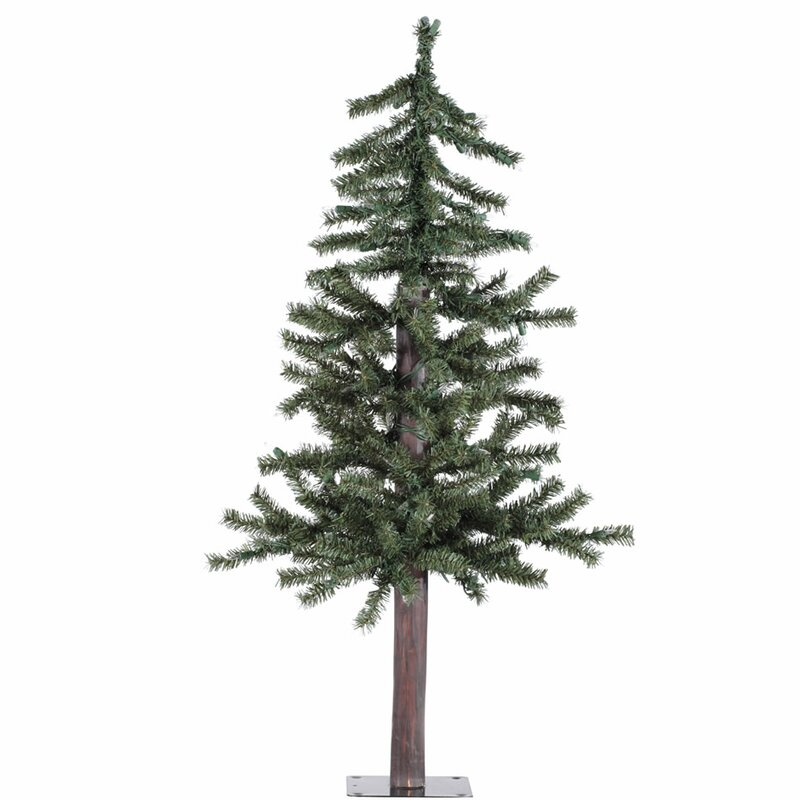 Artificial Christmas Tree Warehouse: The Holiday Aisle 60' Green Pine Artificial Christmas Tree