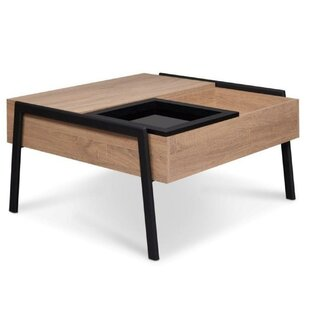 Gracelynn Lift Top Coffee Table with Tray Top