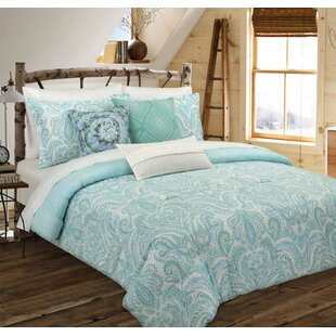 Avoca Painterly Reversible Comforter Set