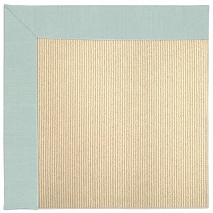 Zoe-Beach Sisal Ocean Gray Indoor/Outdoor Area Rug
