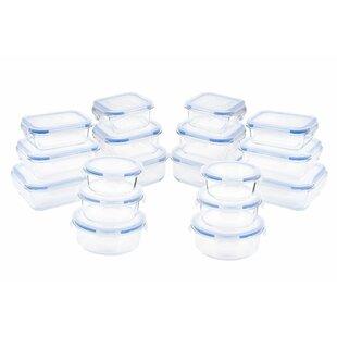 Glassworks Element Oven Safe 36 Container Food Storage Set