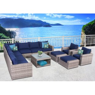 Burkley 12 Piece Sectional Set with Cushions