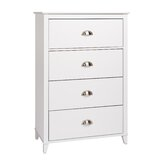 Sanmiguel 4 Drawer Chest by Beachcrest Home