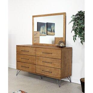 Austin 6 Drawer Double Dresser