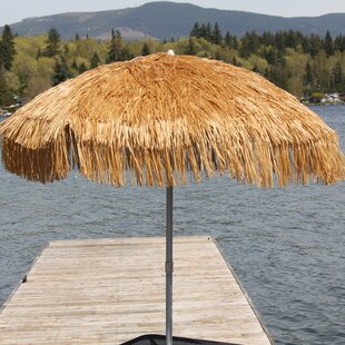 Palapa 6' Beach Umbrella by Parasol 2019 Coupon