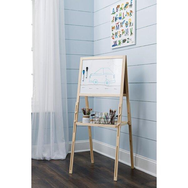 Bathroom Paneling Whiteboard 201x300.jpg Dry Erase Board With Easel | Wayfair