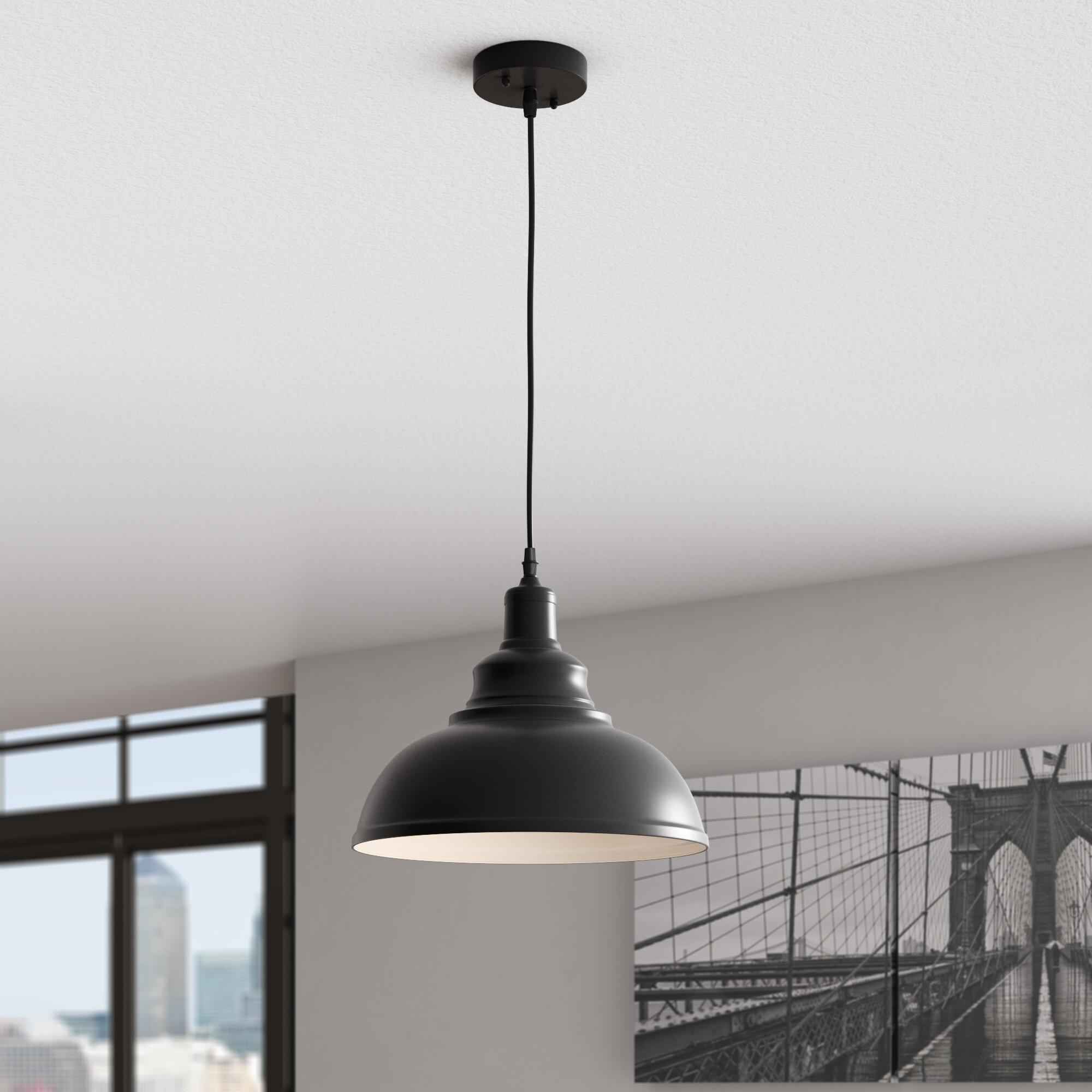 Arabi 1 light inverted pendant