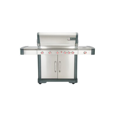 Avalon 5-Burner Convertible Gas Grill with Side Burner Landmann