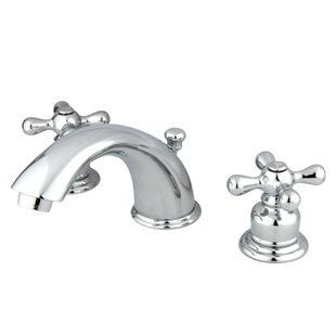 Affordable Magellan Widespread Bathroom Faucet with ABS Pop-Up Drain By Kingston Brass