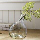 Mazie Angled Recycled Glass Bud Vase