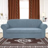 Light Blue Sofa Slipcover | Wayfair