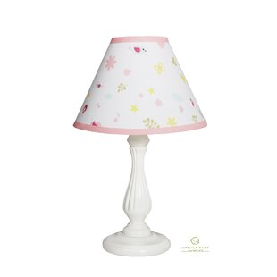 Happy Enchanted Birds 10 Linen Bell Lamp Shade