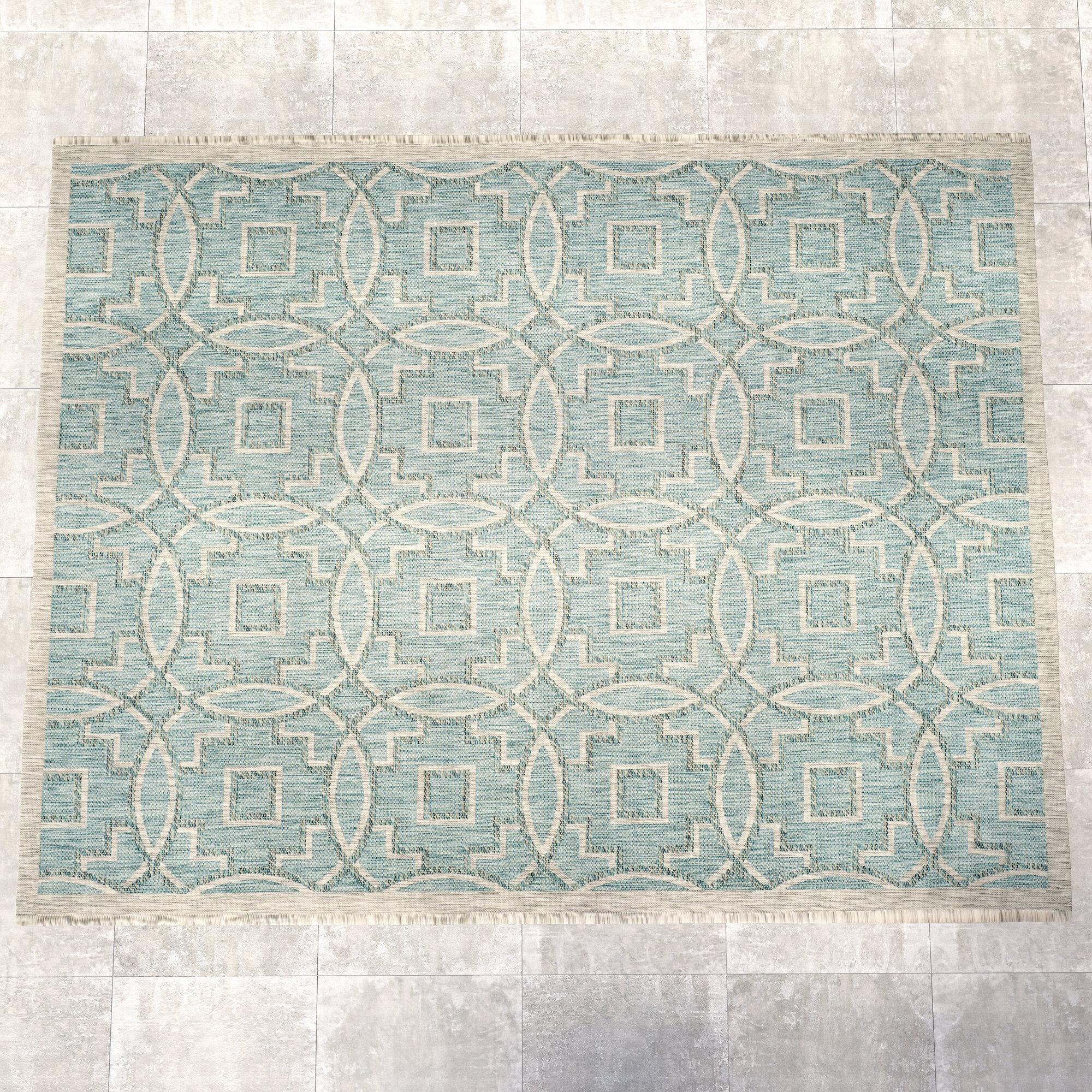 Grey Indoor Outdoor Area Rug