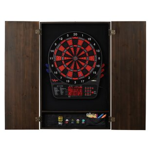 Metropolitan Mahogany Dartboard and Cabinet Set (Wayfair Exclusive) By Viper