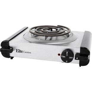 Cuisine Stainless Steel Electric Burner