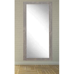 Iona Rustic Wild West Barnwood Full Length Wall Mirror